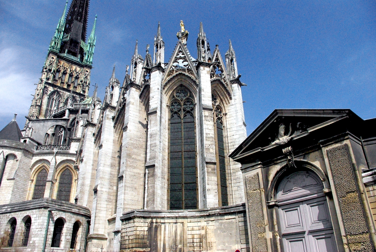 Rouen cathedral french moments - Chevet architectuur ...