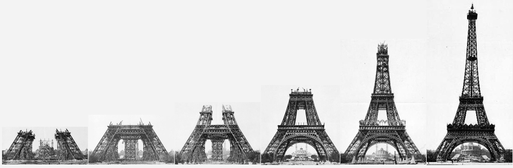 The Eiffel Tower Can Light Up At Night There Are Light B