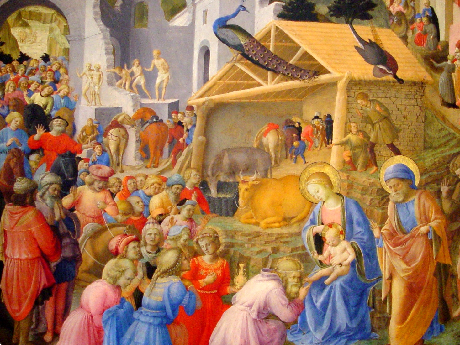 Angelico Adoration Of The Wise
