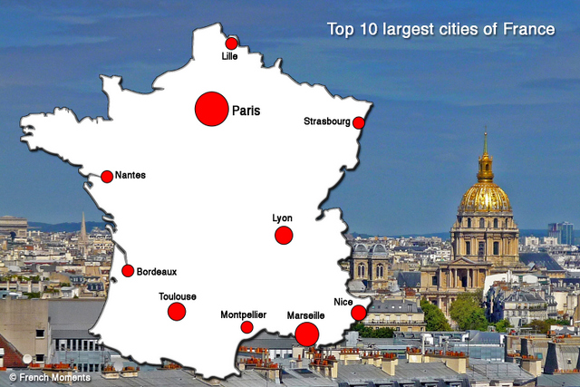 top 10 largest cities of france by population french moments. Black Bedroom Furniture Sets. Home Design Ideas