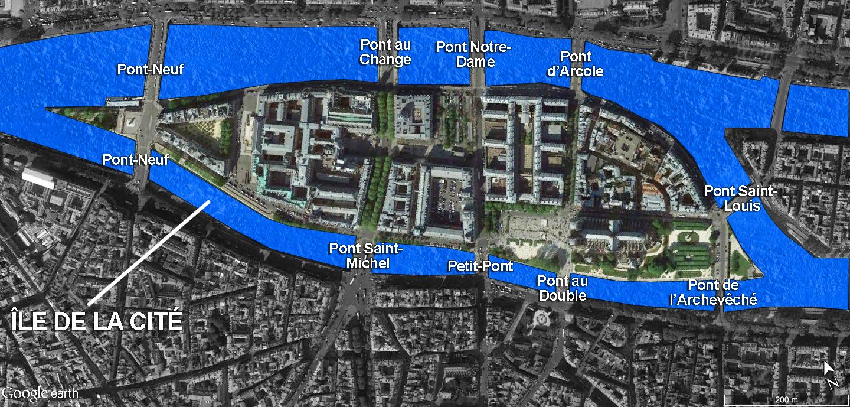 Ile De La Cit 233 Ponts French Moments