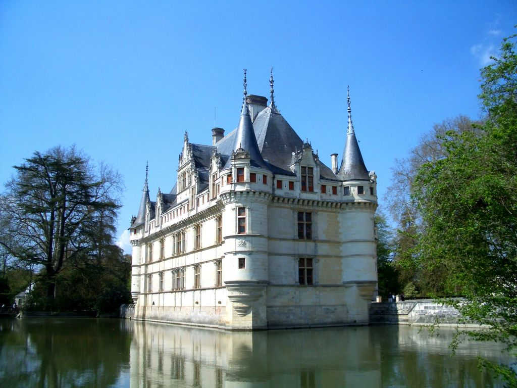 azay le rideau castle french moments. Black Bedroom Furniture Sets. Home Design Ideas