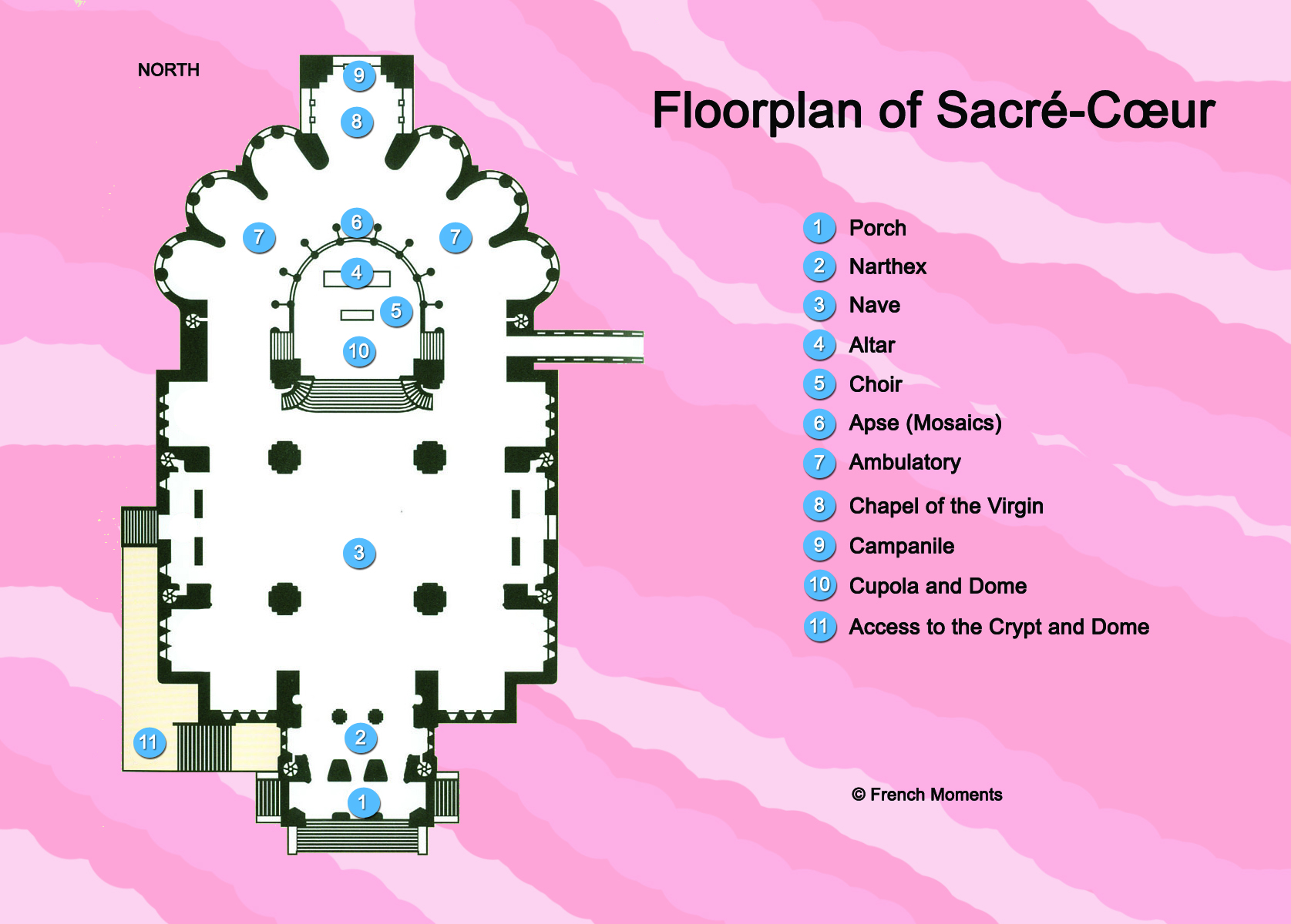 Sacre Coeur Floorplan Copyright French Moments French Moments