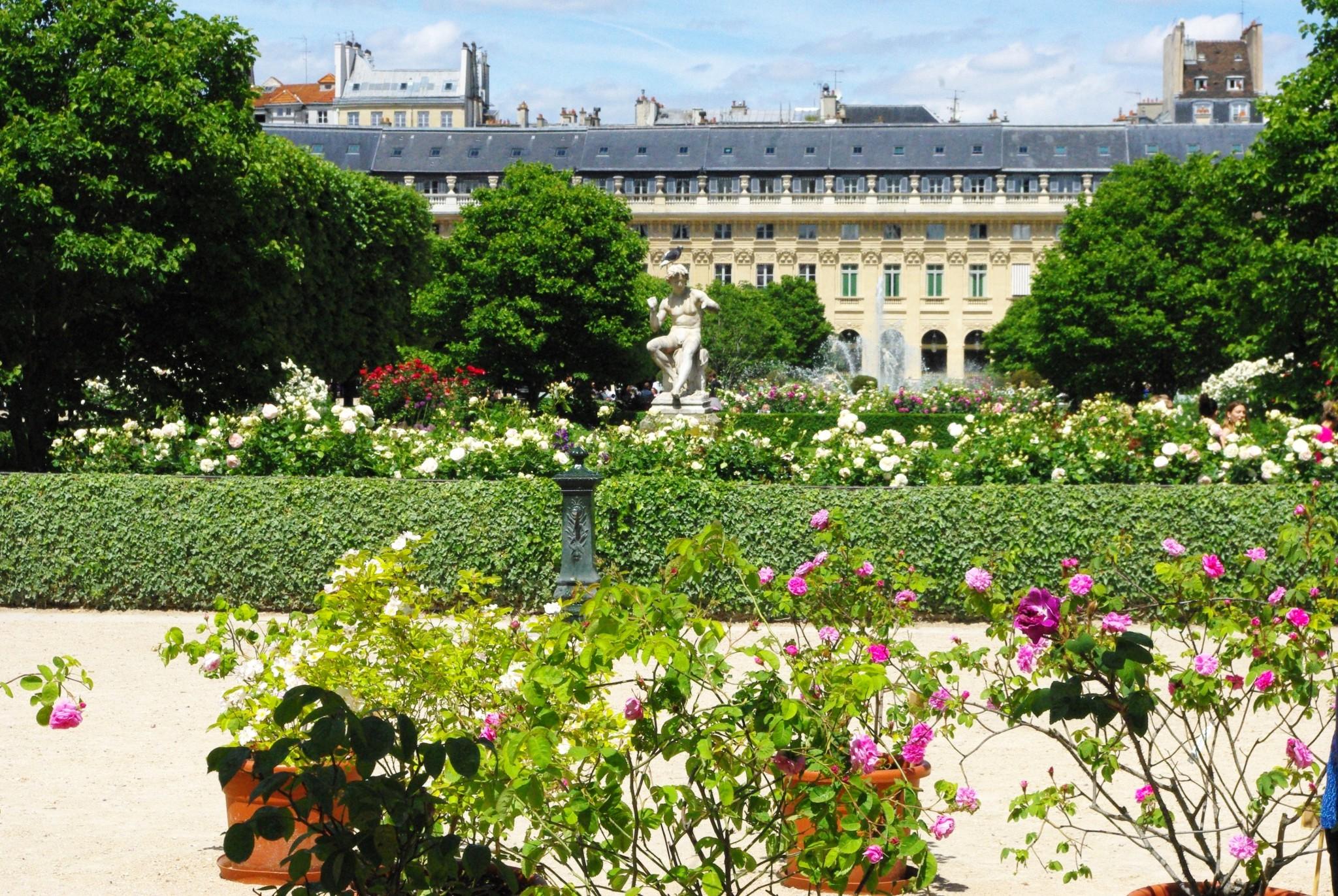 Palais Royal Garden Paris French Moments