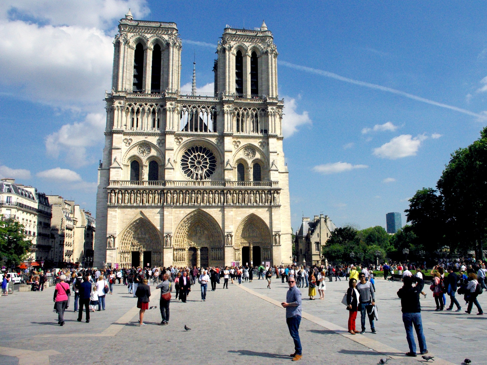 West Fa 231 Ade Of Notre Dame Cathedral Paris French Moments