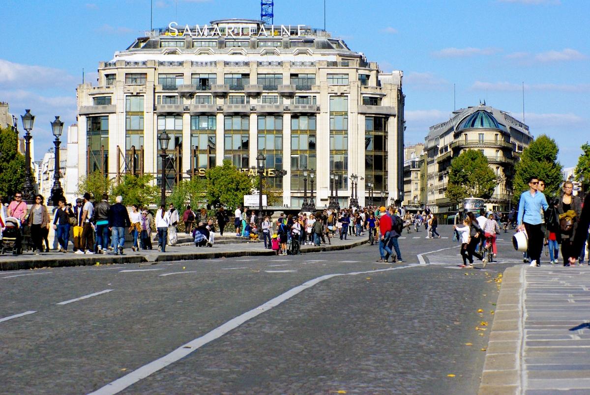 Paris Sans Voiture September 2015 Pont Neuf 02 169 French