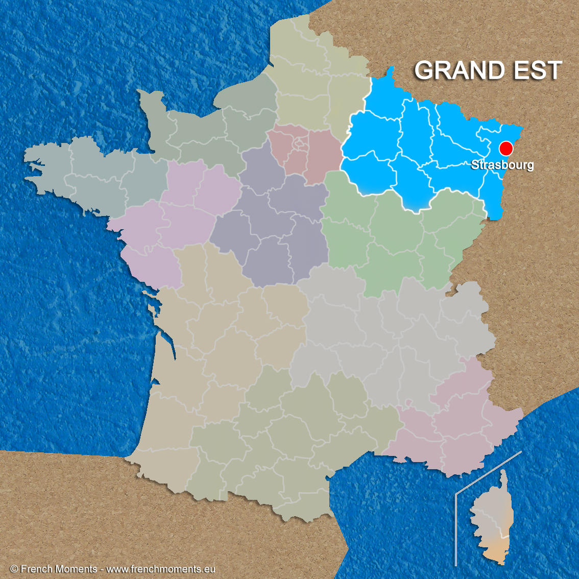 Regions of france grand est copyright french moments for Haute de france