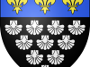 Coat of arms of Mont-Saint-Michel abbey (Normandy) © Bruno Vallette, Licence CC BY-SA 3.0 from Wikimedia Commons