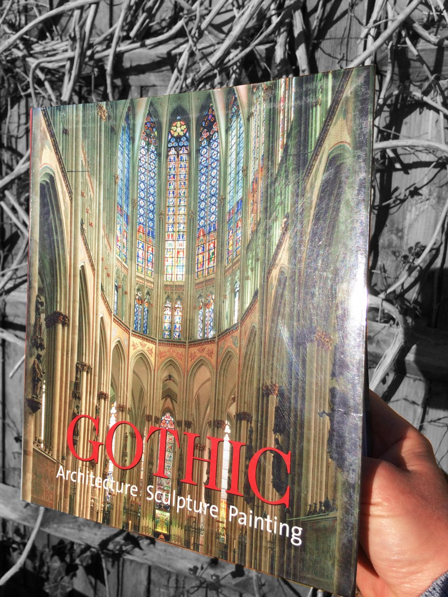"Gothic Art Books: My copy of the book ""Gothic: Architecture, Sculpture, Painting"""