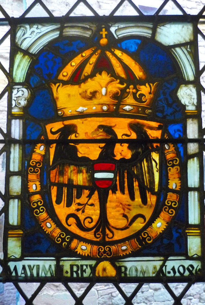 The Habsburgs' coat of arms © French Moments