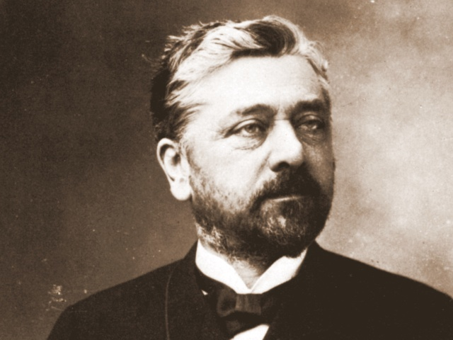 Gustave Eiffel in 1888 by Nadar