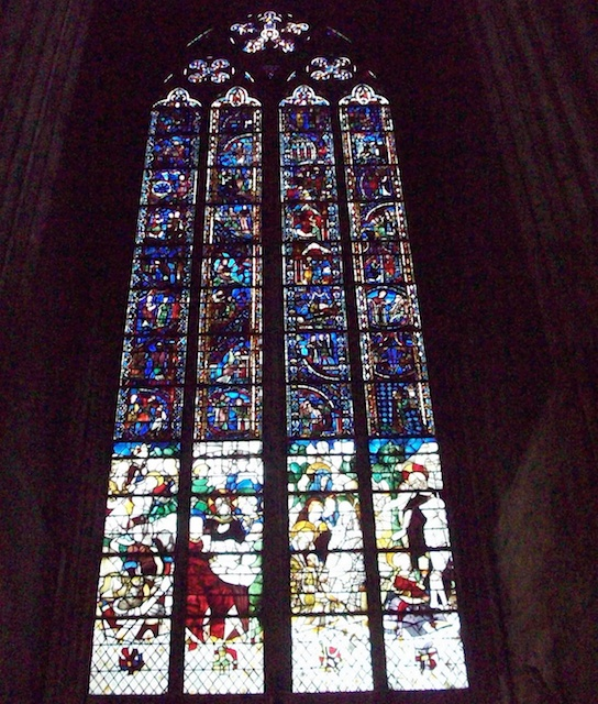 The Belles Verrières stained-glass windows in St Sever Chapel, Rouen Cathedral © Giogo - Creative Commons (CC BY-SA 3
