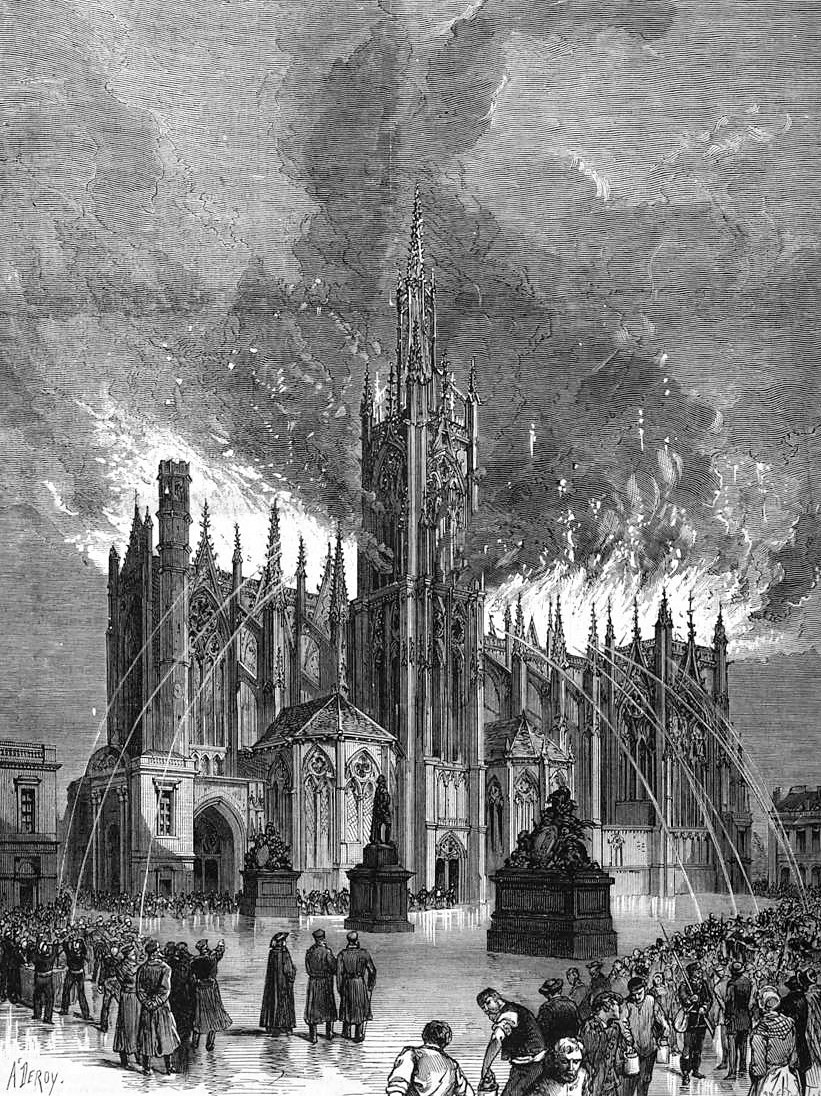 The great fire of 7 May 1877