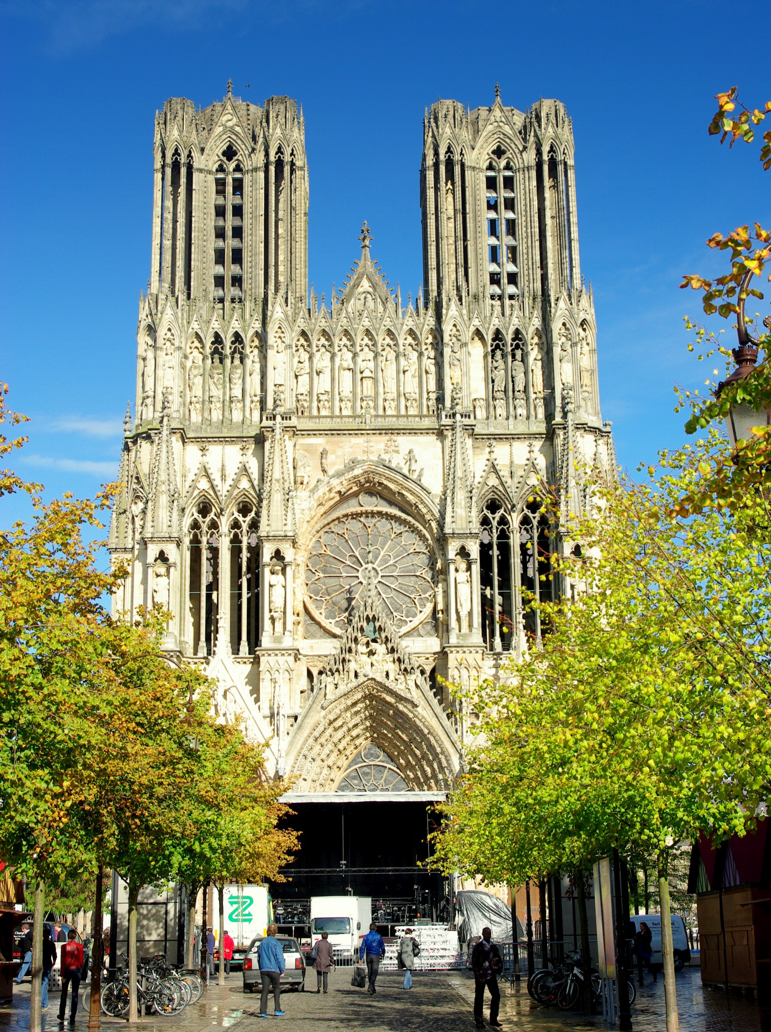 West front of Reims Cathedral © French Moments
