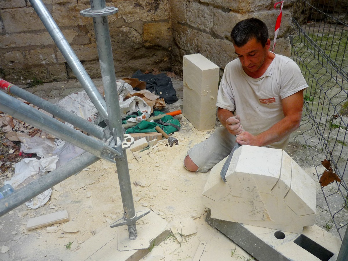 Renovation of Vendôme Abbey © French Moments