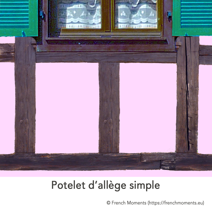 Alleges Fenetres Maison Alsacienne Potelet Simple © French Moments