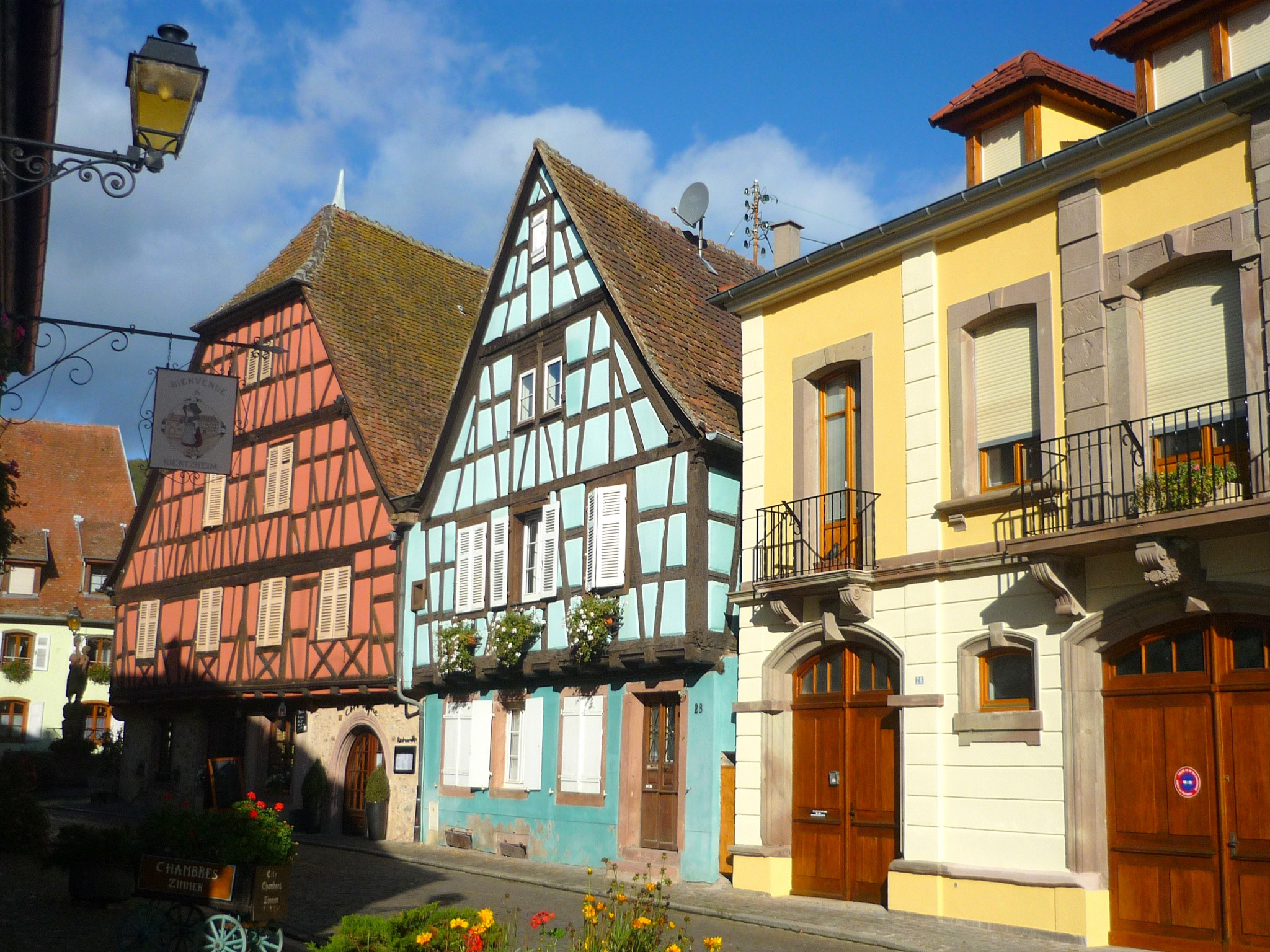 Half-timbered houses in Kienthzheim © French Moments