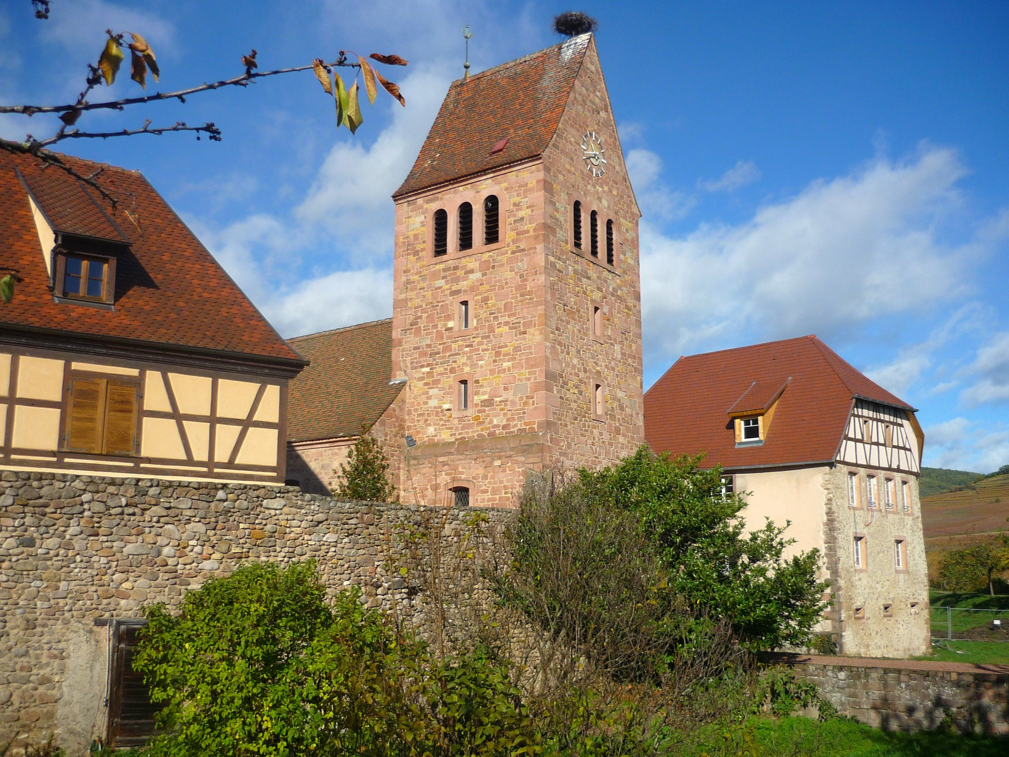 Parish church in Kienthzheim © French Moments