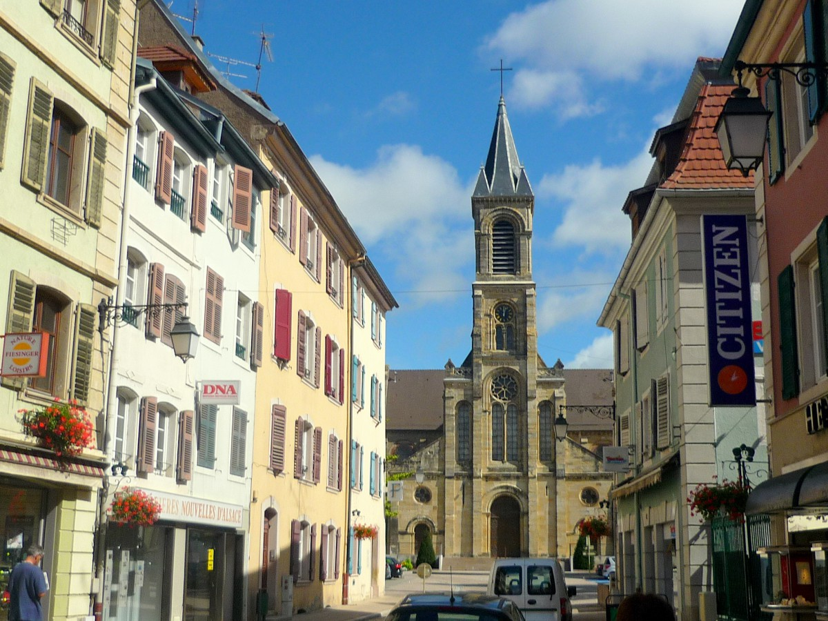 Altkirch's church © French Moments