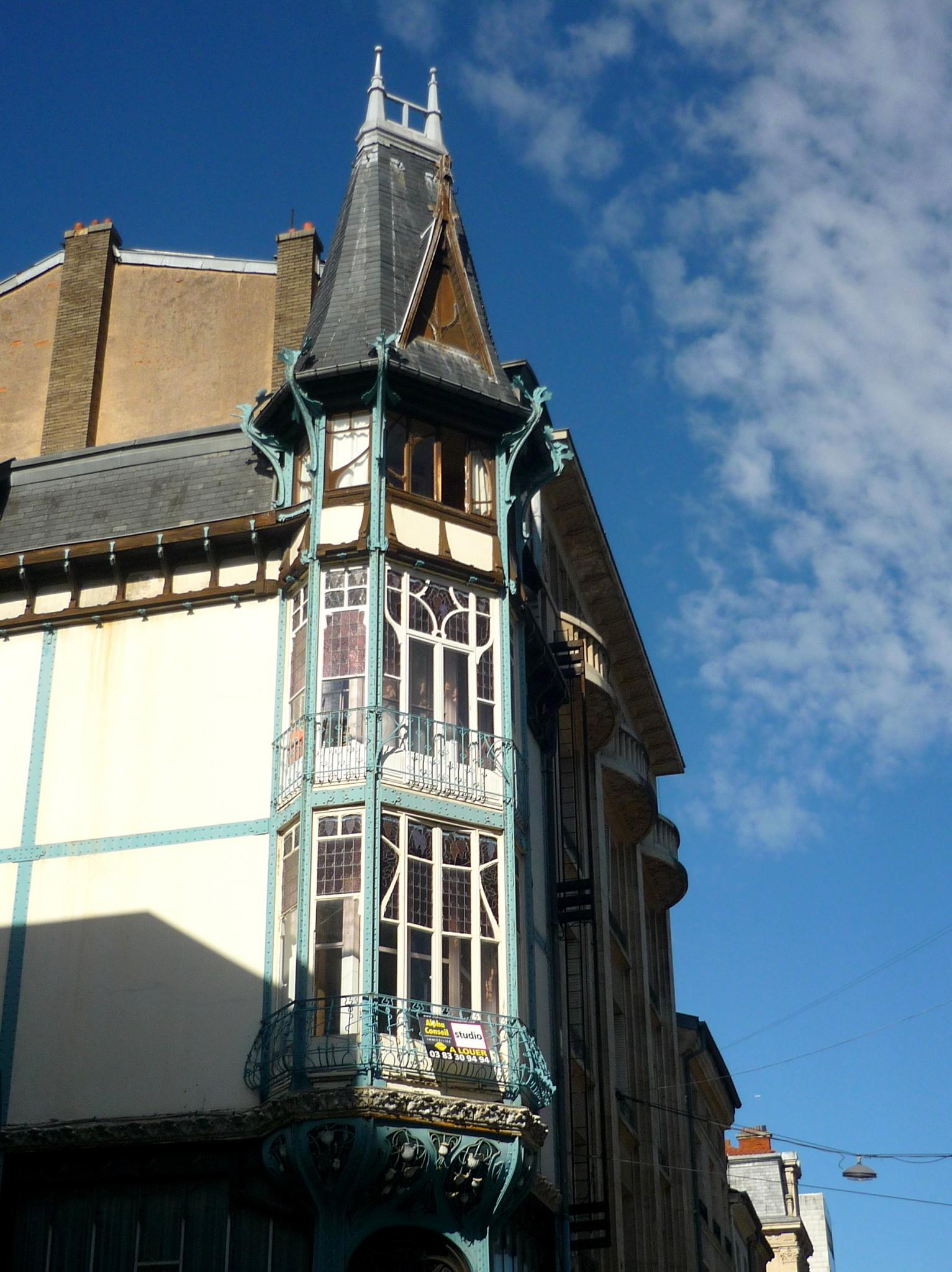 Art nouveau in nancy lorraine french moments - Cabinet radiologie rue saint dizier nancy ...
