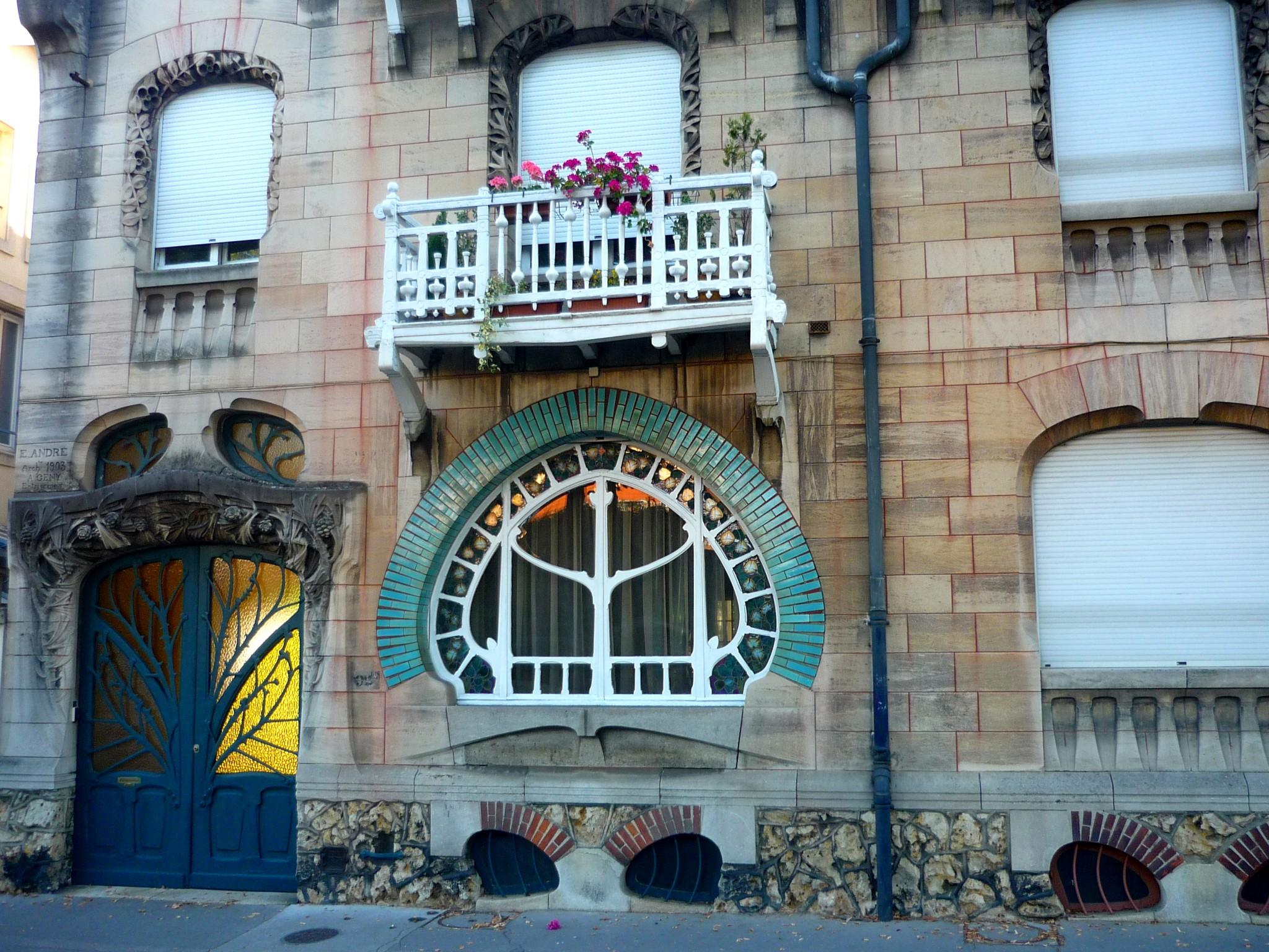 Art nouveau in nancy lorraine french moments - Art nouveau architecture de barcelone revisitee ...