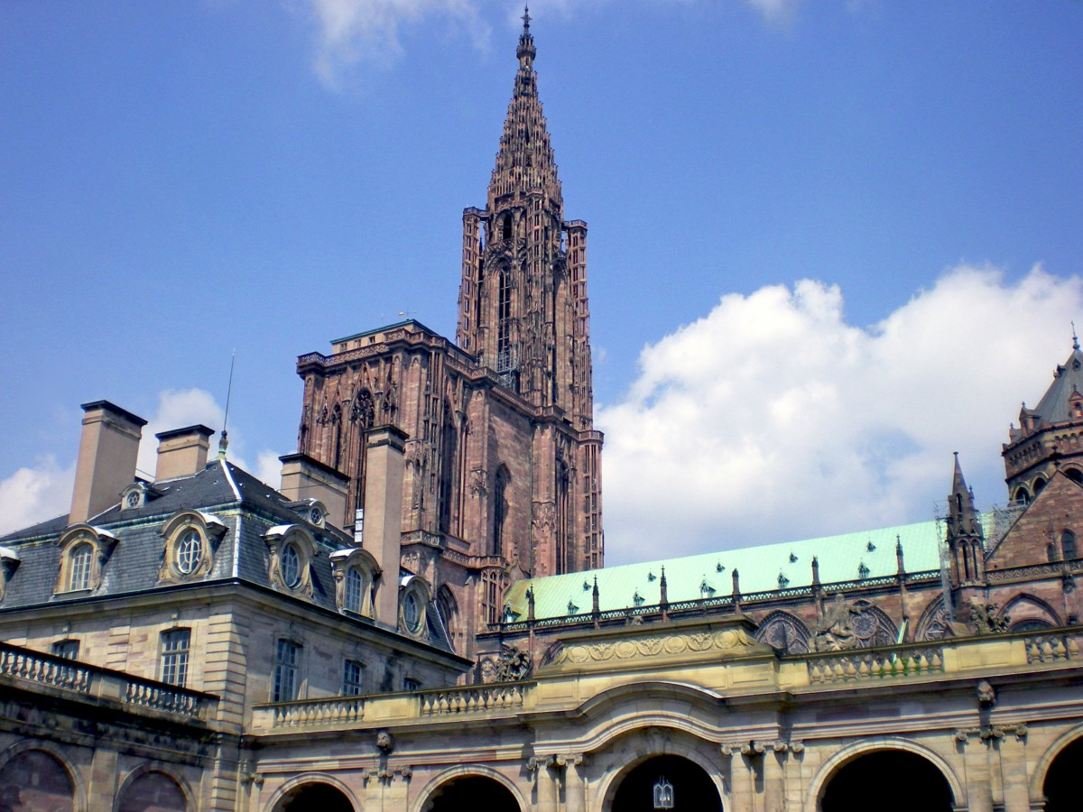 France's tallest cathedrals - Strasbourg cathedral © French Moments
