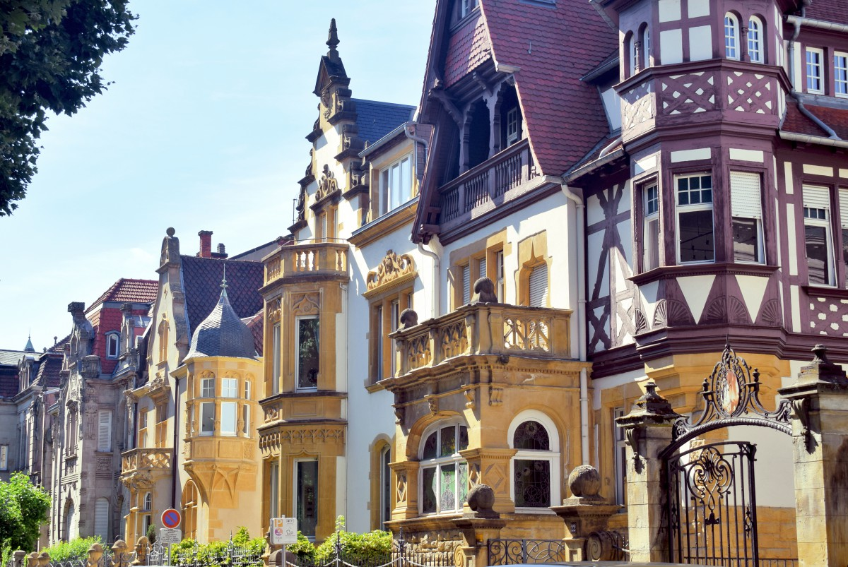 Avenue Foch, Metz German Imperial District © French Moments