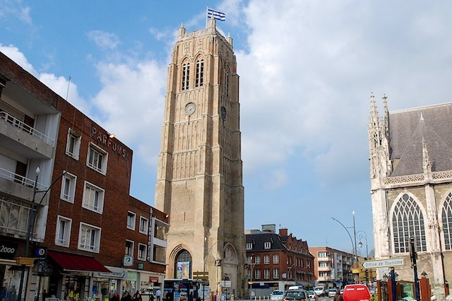 Dunkirk Belfry © Paul Hermans, Creative Commons (CC BY-SA 3.0)