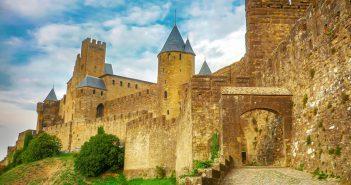 Cité of Carcassonne - Porte d'Aude (Aude Gate) © French Moments
