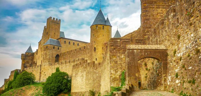 Cité of Carcassonne - Porte d'Aude (Aude Gate) © French Moments