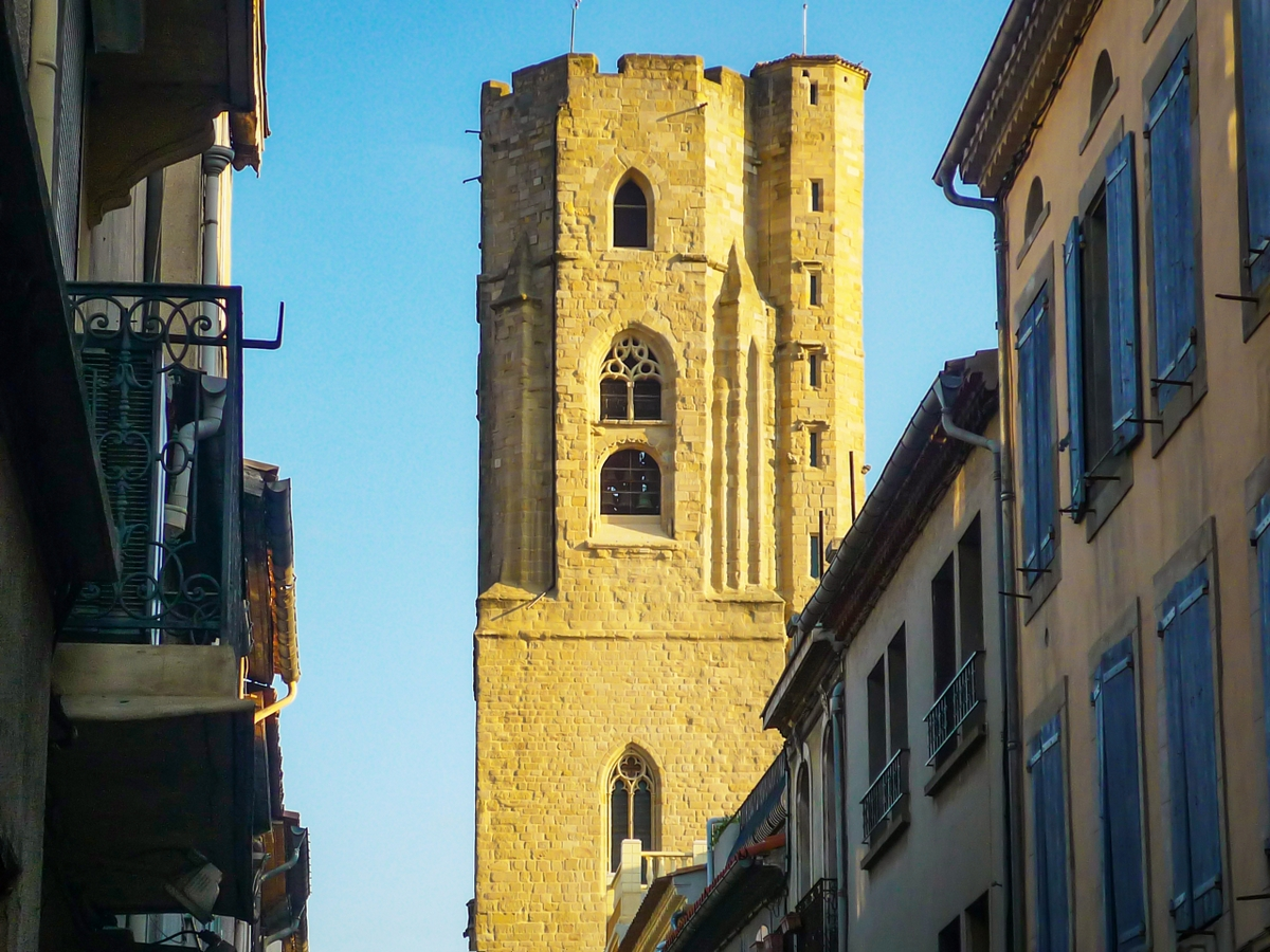 Cité of Carcassonne - The bell tower of Saint-Vincent church © French Moments
