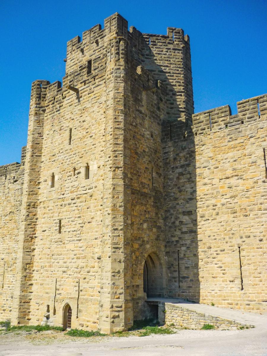 Cité of Carcassonne - Saint-Nazaire Gate (Porte Saint-Nazaire) © French Moments