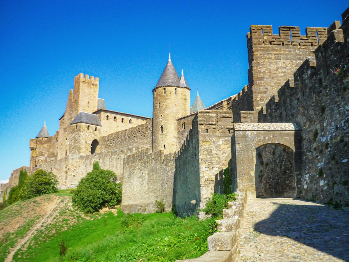 castles of France : Carcassonne © French Moments