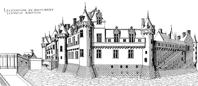 Chantilly Castle in the Middle Ages