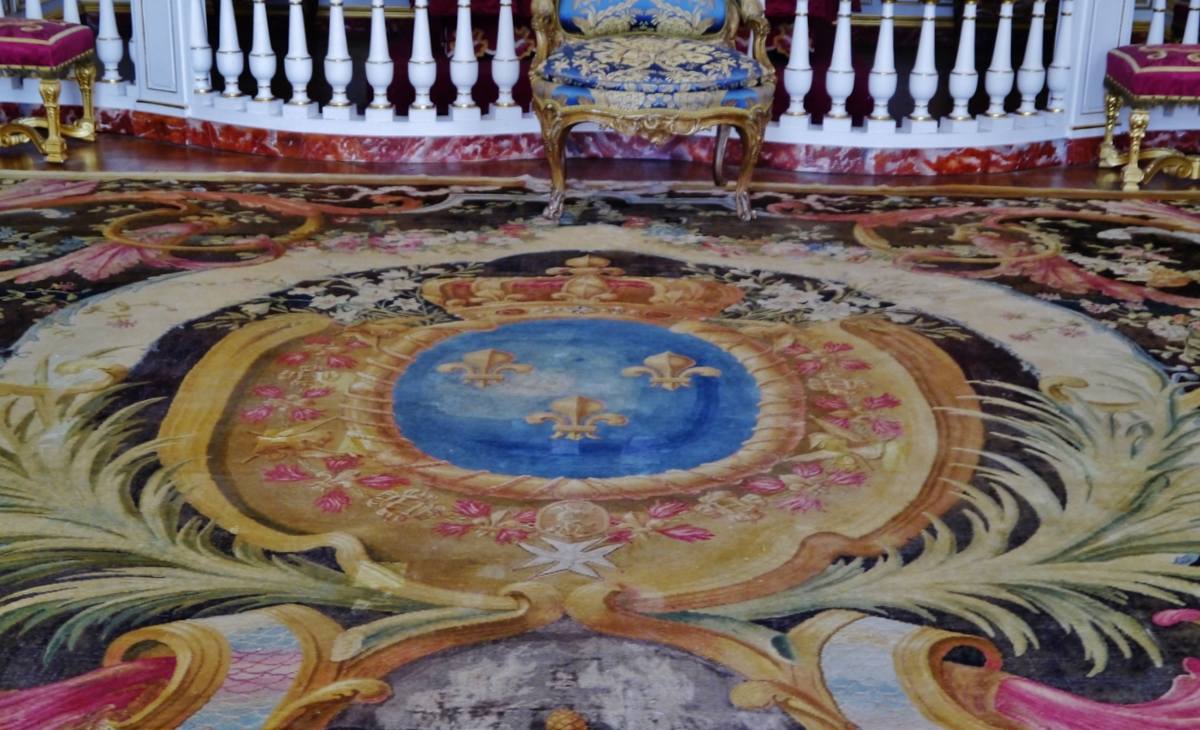Chambord Carpet in Parade Apartment © Zairon [CC BY-SA 4.0] from Wikimedia Commons