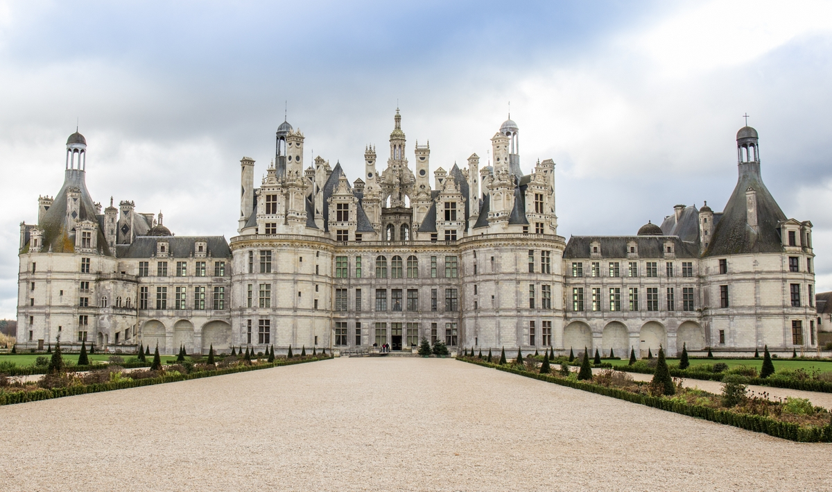 Chambord North Facade © Nono vlf [CC BY-SA 4.0] from Wikimedia Commons