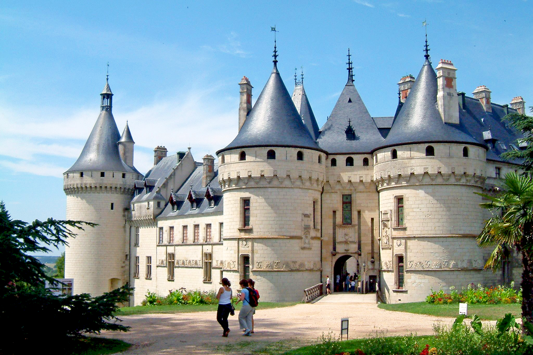 chaumont sur loire castle french moments. Black Bedroom Furniture Sets. Home Design Ideas