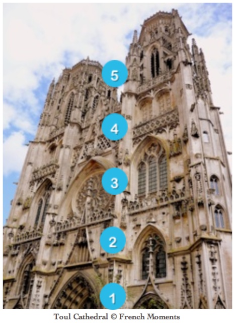 Western Façade, Toul Cathedral © French Moments