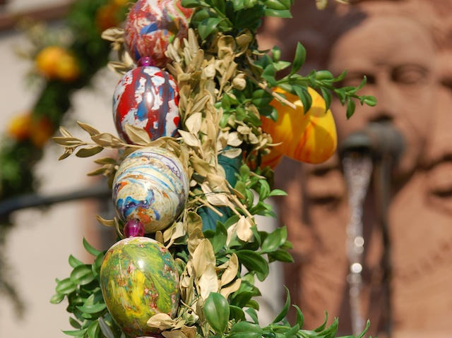 Easter Decoration In Alsace French Moments