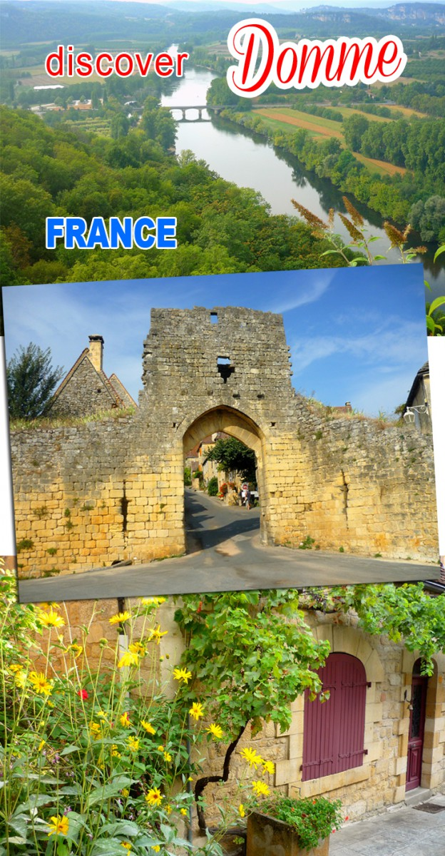 Discover the village of Domme © French Moments