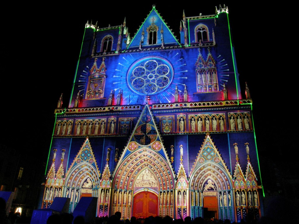 The Festival Of Lights In Lyon - La F U00eate Des Lumi U00e8res De Lyon