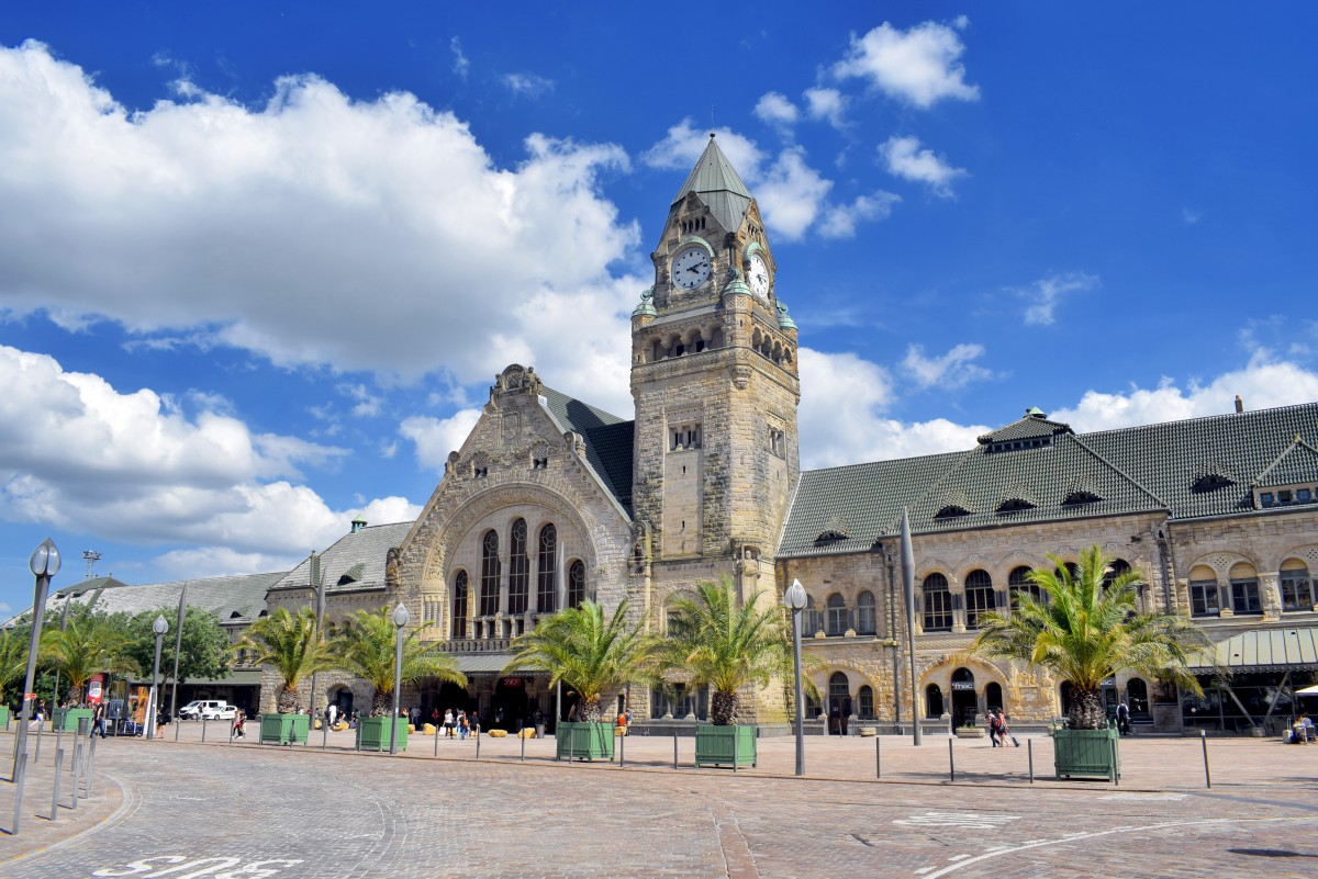 Railway station of Metz © French Moments