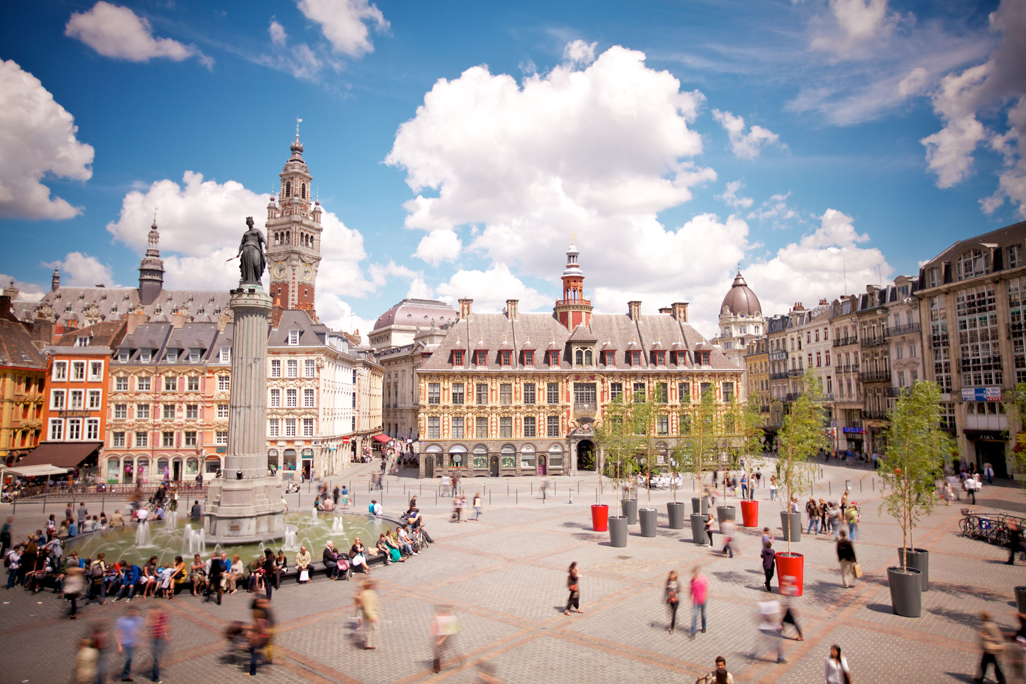 Grand'Place in Lille © Laurent Ghesquière