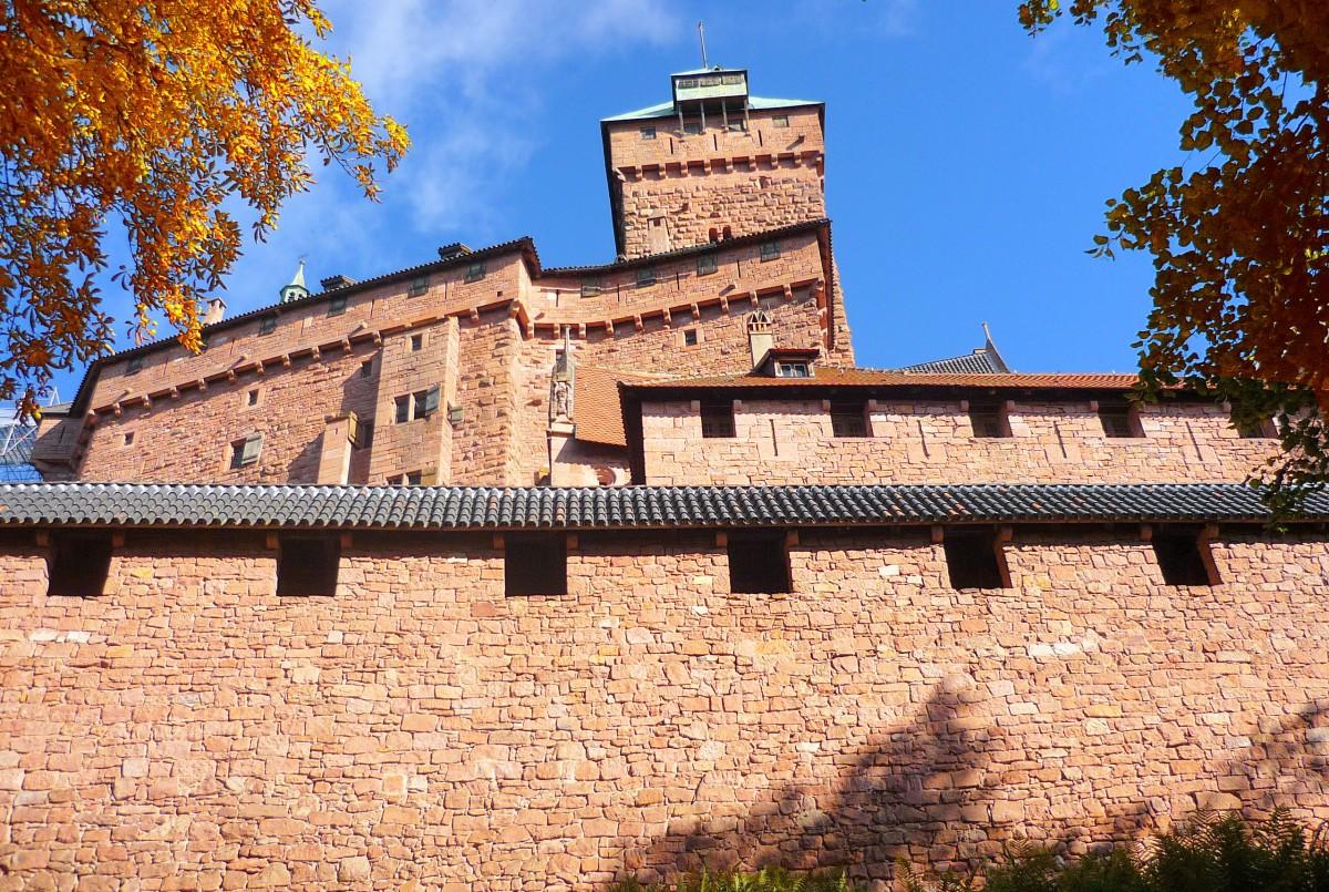 castles of France: The castle of Haut-Kœnigsbourg © French Moments