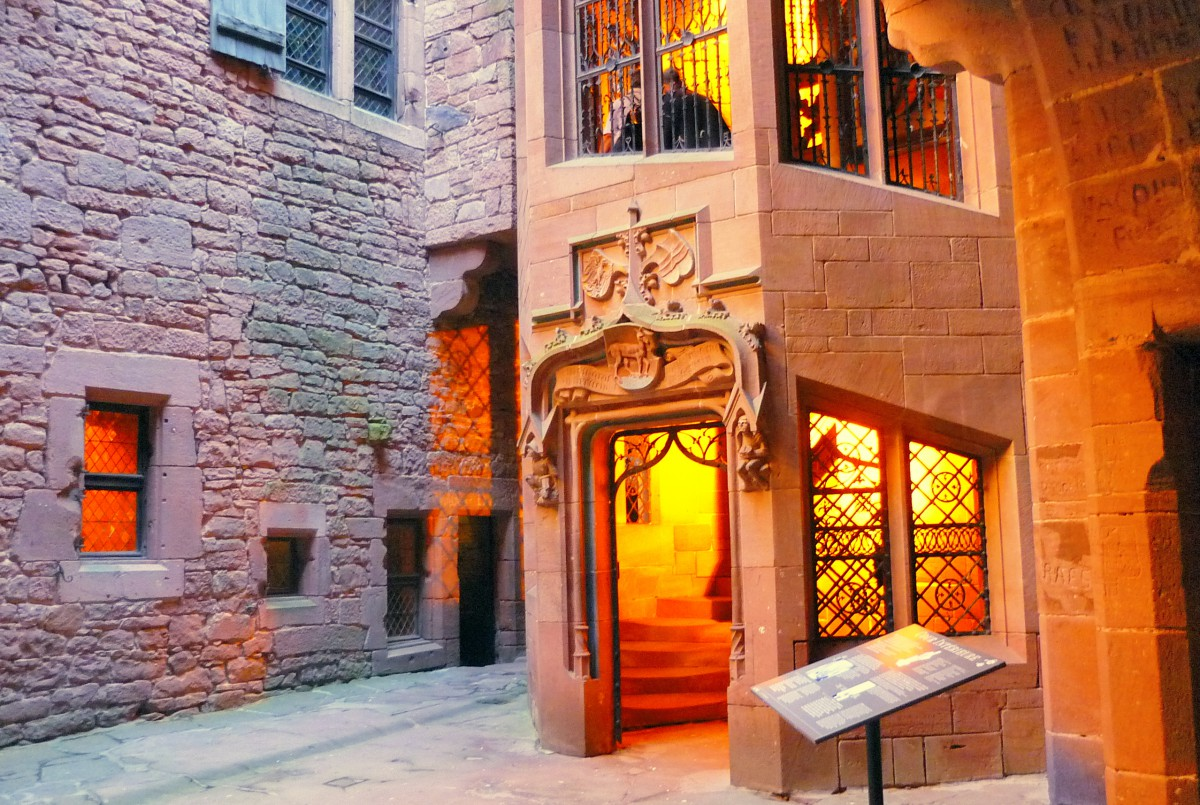 The inner courtyard (Cour intérieure) © French Moments