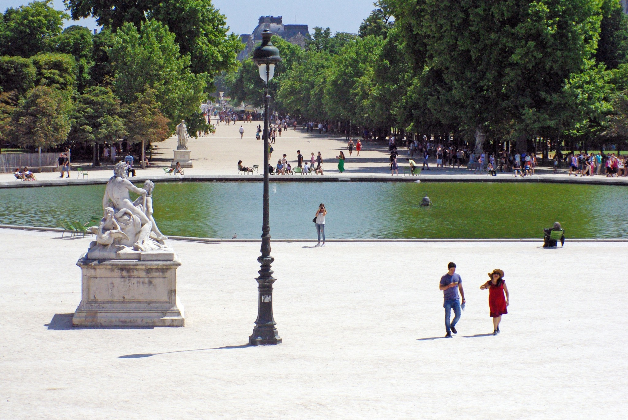 Francois Illas New Tradition: Jardin Des Tuileries, Paris