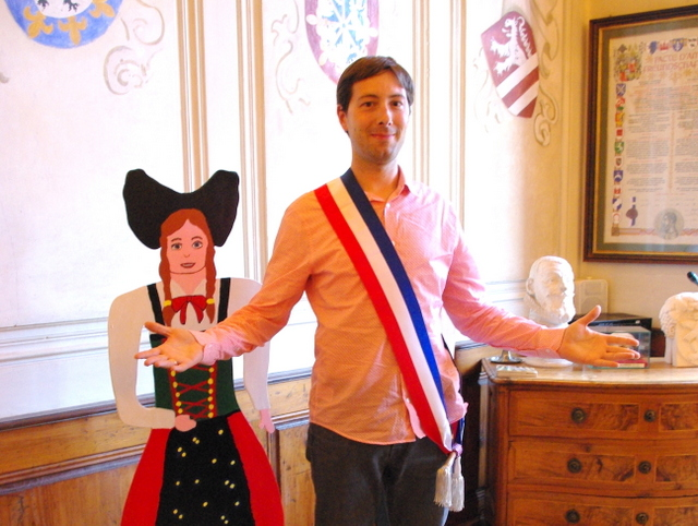 The French mayor sash © French Moments