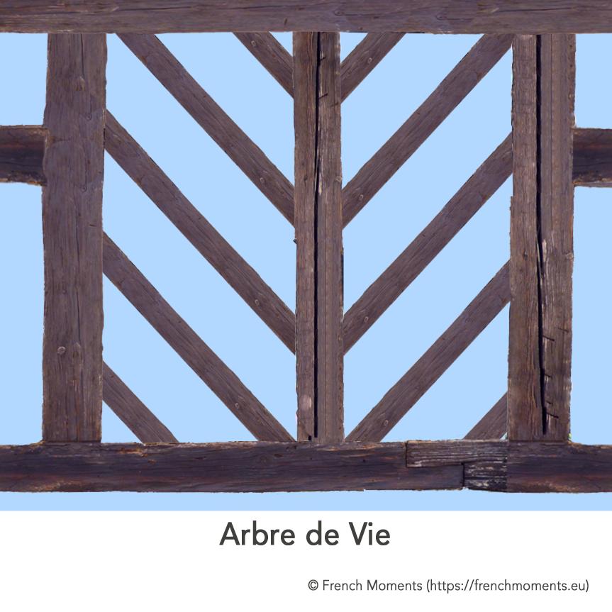 Maison Alsacienne Arbre de Vie © French Moments