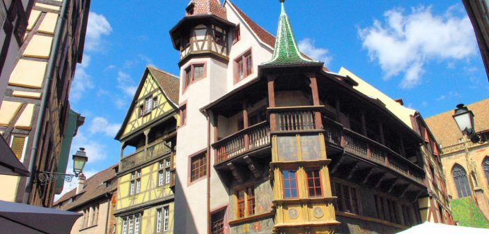 Renaissance Houses in Alsace - Colmar © French Moments