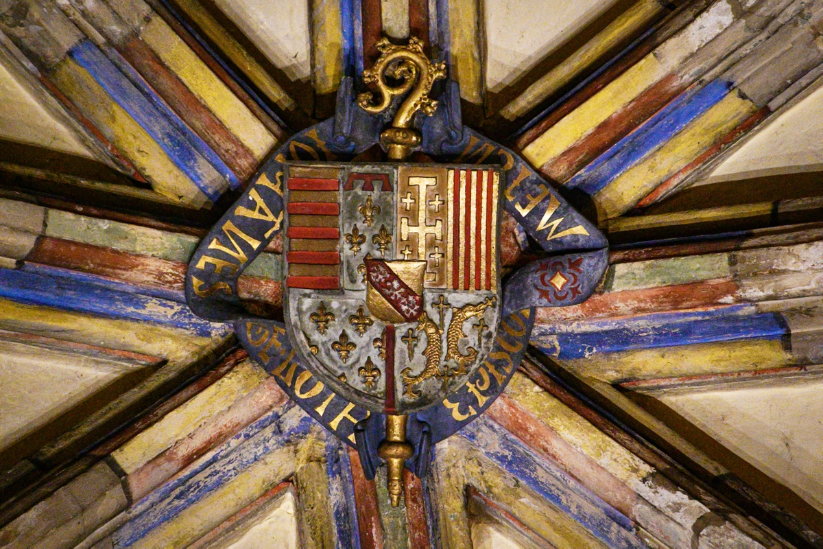 The coat of arms of the Dukes of Lorraine, radiant chapel in Metz Cathedral © French Moments